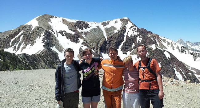 Students involved in research can travel to a summer school or conference (Snowbird, Utah, USA)