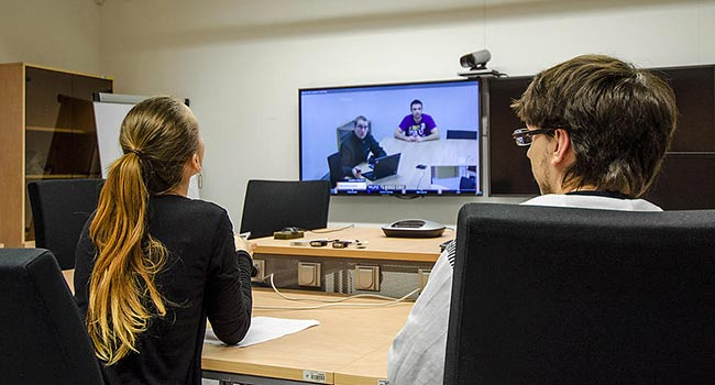 Videoconference, one of the possibilities of using modern networks