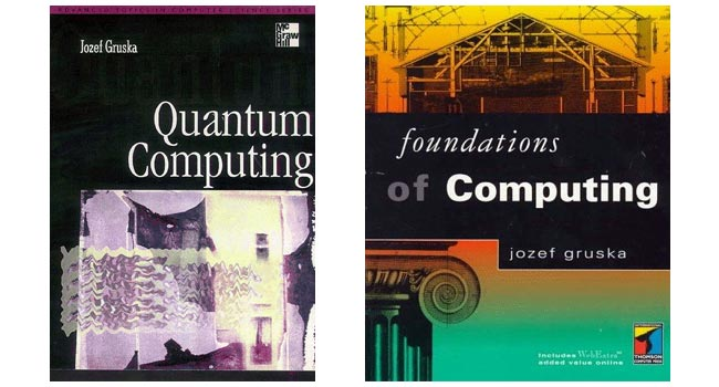 According to the books of prof. Grusky, one of the teachers, is learning computer science abroad