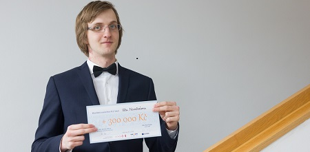 Student Preparing Next-Gen Search Engine Receives Brno Ph.D. Talent Award and 300 Thousand