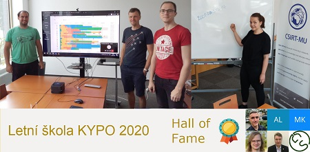 The KYPO Summer School trained the finalists of the Secondary School Competition in Cybersecurity