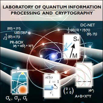 Laboratory of Quantum Information Processing and Cryptography