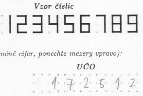 scanned numbers