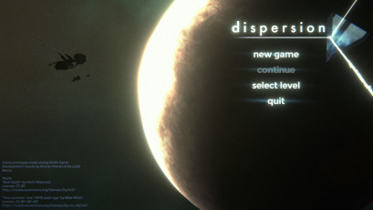 Dispersion - screenshot from game